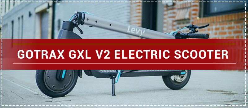 Gotrax GXL V2 Electric Scooter