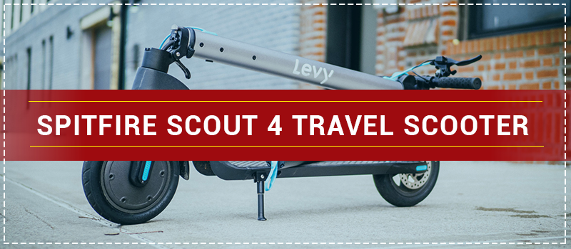Spitfire Scout 4 Travel Scooter